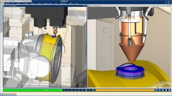 Vericut CNC simulation software
