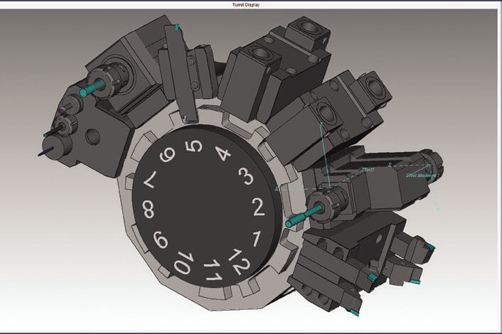 Vericut - Version 9 - Mill-turn tooling enhancements